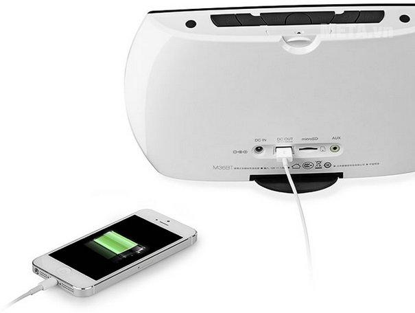 Loa Edifier IF355BT dễ dàng kết nối với nhiều thiết bị qua cổng USB