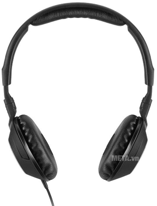 Tai nghe Sennheiser HD231G có miếng mút đệm êm và mềm để tạo cảm giác nhẹ nhàng
