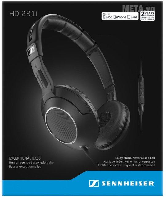 Hộp của tai nghe Sennheiser HD231i