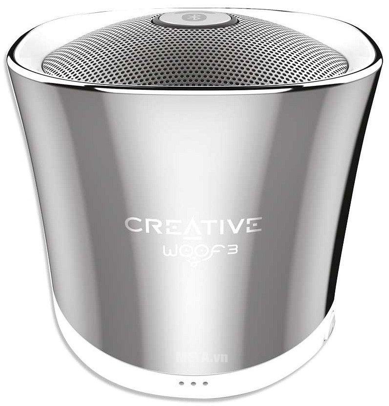 Hình ảnh loa Creative Woof 3 Bluetooth màu bạc