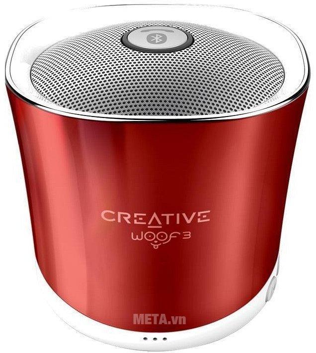 Hình ảnh loa Creative Woof 3 Bluetooth màu đỏ