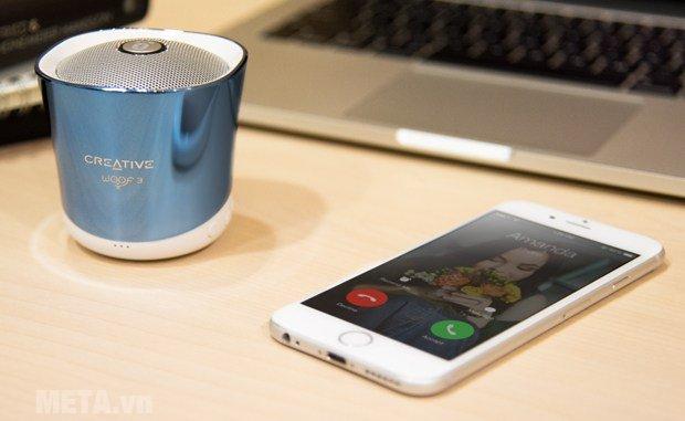 Loa Creative Woof 3 Bluetooth kết nối mà không cần dây vướng víu