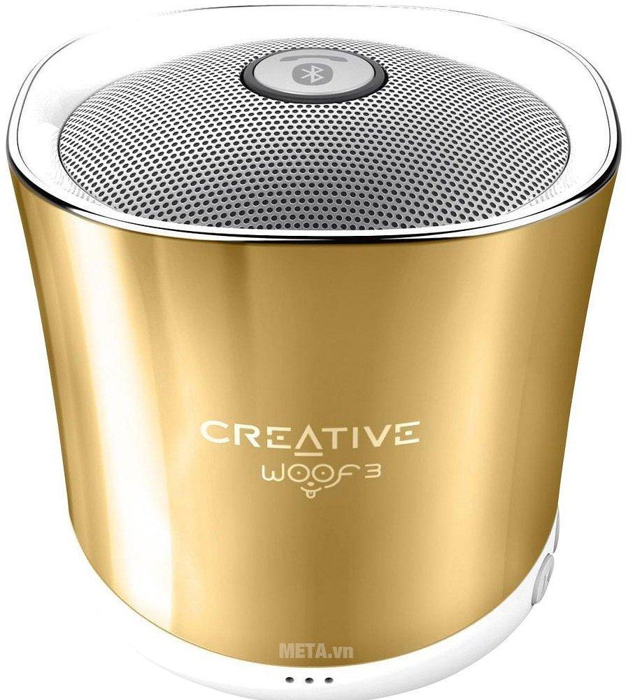 Hình ảnh loa Creative Woof 3 Bluetooth màu vàng