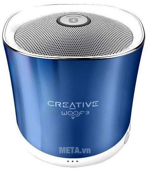Hình ảnh loa Creative Woof 3 Bluetooth màu xanh