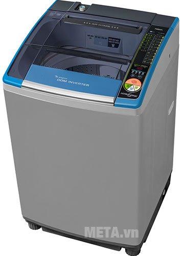 Máy giặt cửa trên 12.5kg AQUA AQW-DQ125ZT có công nghệ Inverter tiết kiệm điện năng