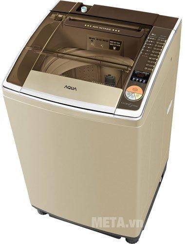 Máy giặt cửa trên 12.5kg AQUA AQW-U125ZT có nhiều chương trình giặt
