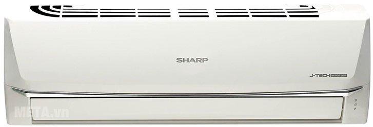 Điều hòa 1 chiều Inverter 18000 BTU Sharp AH-X18SEW có thiết kế hiện đại, màu sắc trang nhã