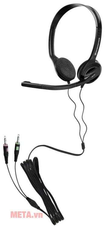 Tai nghe Sennheiser PC 31 rất dễ sử dụng