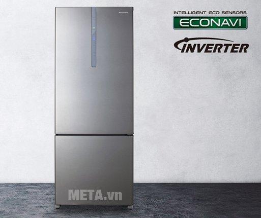 Tủ lạnh 405 lít Panasonic NR-BX468XSVN với thiết kế mới, hiện đại