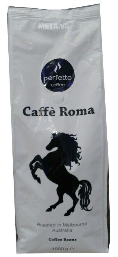 Cà phê hạt Café Roma mang đến hương vị thơm ngon, đậm đà