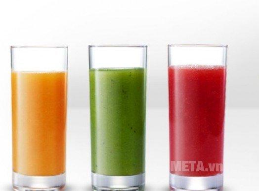 Máy ép trái cây ZJE1200W cho bạn những ly nước ép bổ dưỡng
