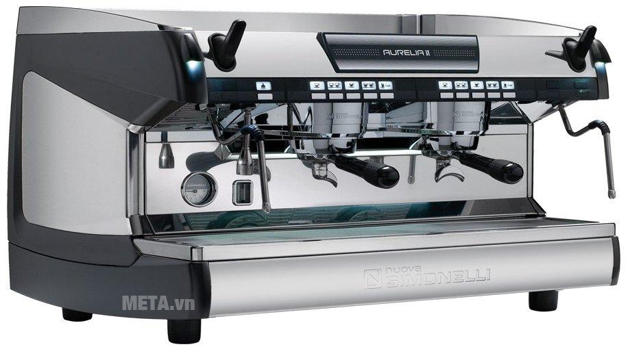 Máy pha cà phê Nuova Simonelli Aurelia II 2 Group được thiết kế hiện đại