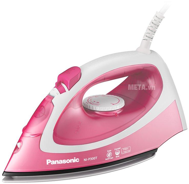 Bàn là hơi nước Panasonic PABU-NI-P300TRRA hoạt động mạnh mẽ