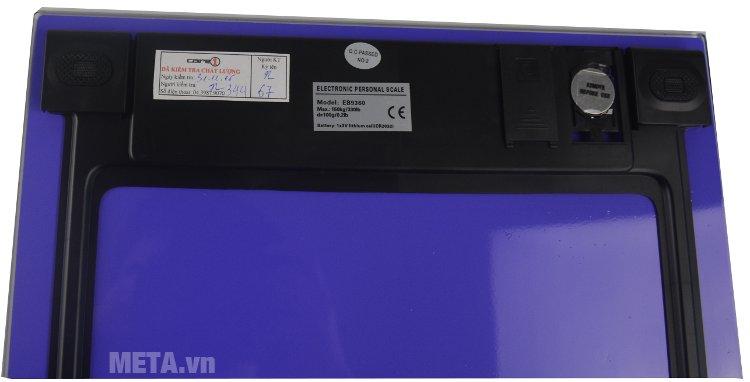 Cân điện tử Camry EB9360-S647 thích hợp cân sức khỏe cho gia đình hoặc tại phòng mạch