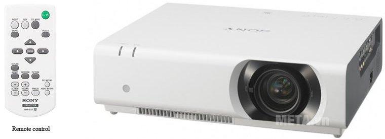 Máy chiếu Sony VPL-CH370-WIRELESS được thiết kế hiện đại, với độ phân giải cao