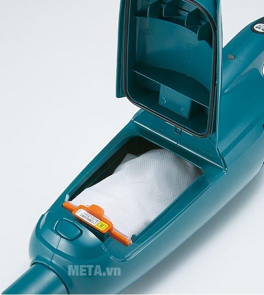 Máy hút bụi chạy pin 10,8V Makita CL104DWYX giúp công việc dọn dẹp nhà cửa trở nên dễ dàng hơn