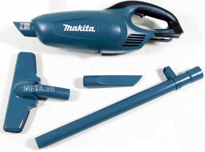 Máy hút bụi chạy pin Makita DCL140Z có thể tháo lắp dễ dàng