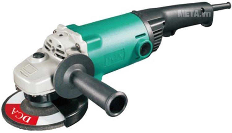 Máy mài góc 1200W DCA ASM02-125B (S1M-FF02-125B) mài nhẵn kim loại nhanh chóng.