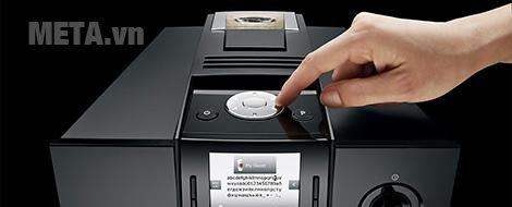 Máy pha cà phê tự động Jura Impressa F9 Piano Black có màn hình dễ sử dụng