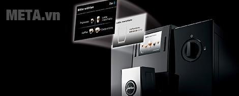 Máy pha cà phê tự động Jura Impressa F9 Piano Black với 14 loại cà phê khác nhau