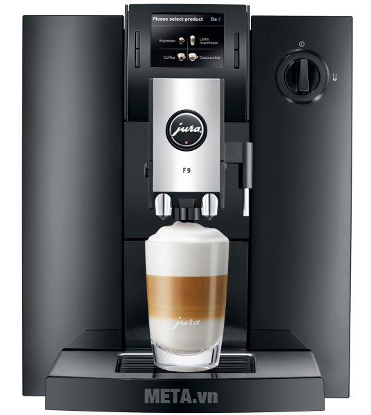 Máy pha cà phê tự động Jura Impressa F9 Piano Black được thiết kế cao cấp