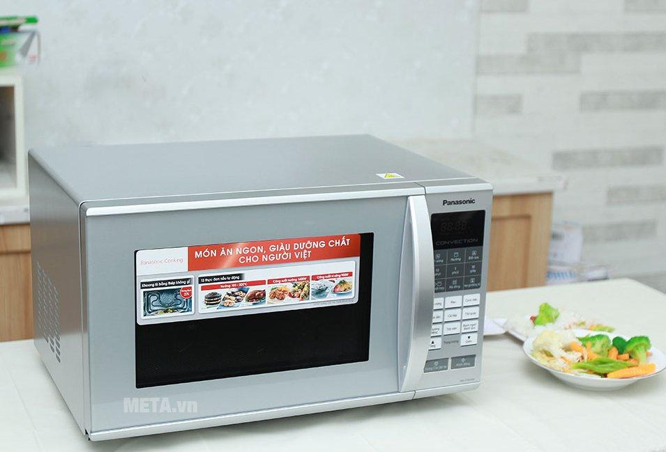 Lò vi sóng điện tử Panasonic NN-CT655MYUE - 27 lít giúp chế biến món ăn nhanh chóng