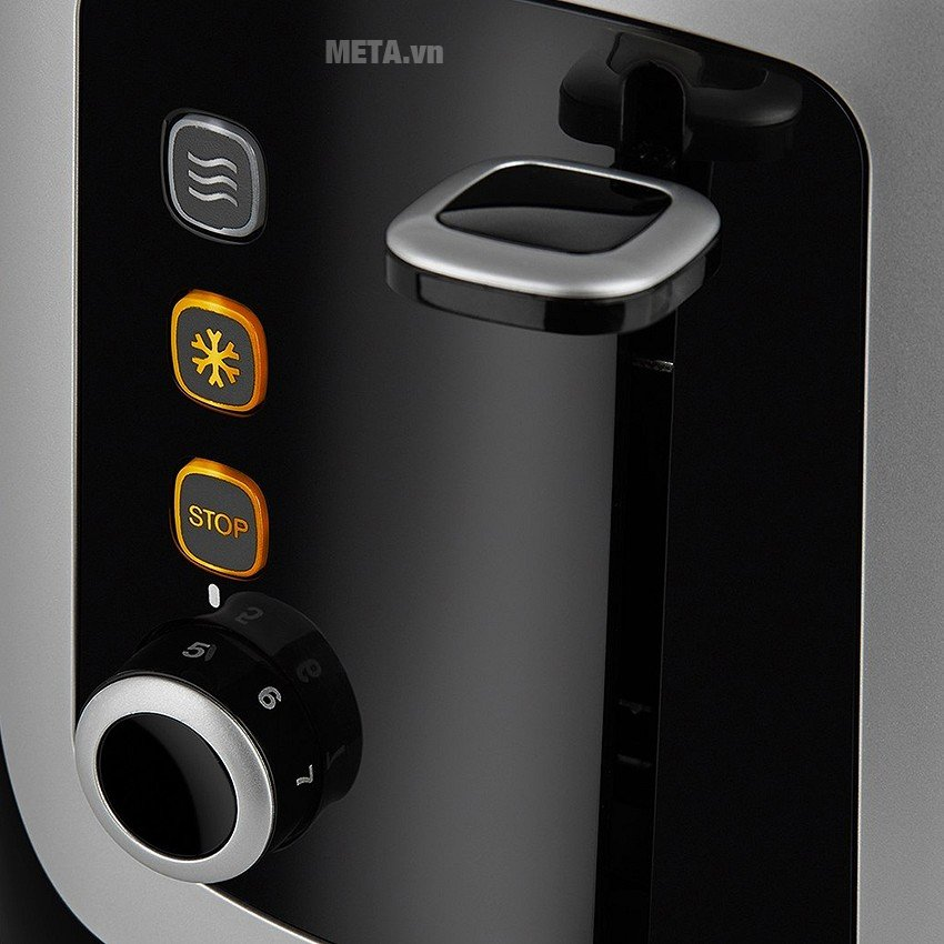 Máy nướng bánh mì Electrolux ETS3505 dễ dàng điều chỉnh