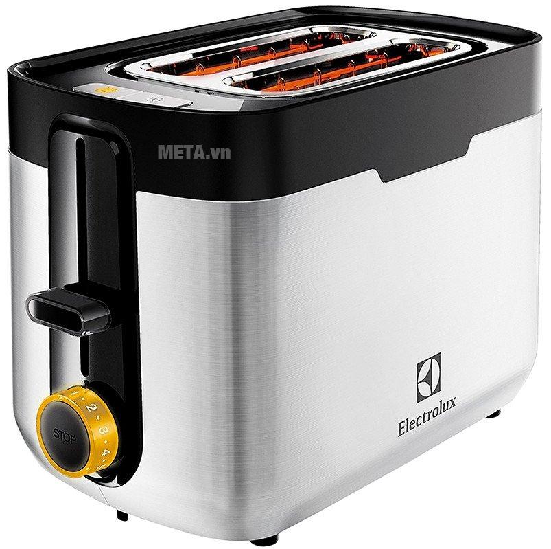 Máy nướng bánh mì Electrolux ETS5604S thiết kế theo phong cách châu Âu