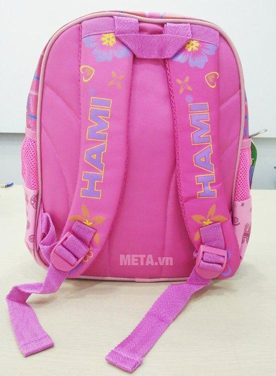 Ba lô học sinh Hami BL230 có thiết kế quai đeo trợ lực