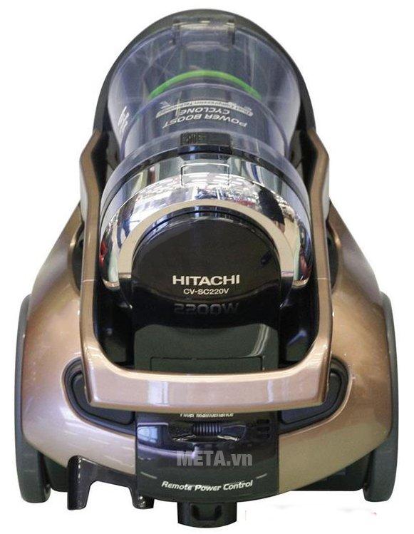 Máy hút bụi Hitachi CV-SC220V có lực hút mạnh mẽ