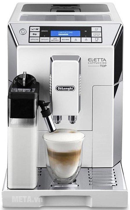 Hình ảnh máy pha cà phê tự động DeLonghi ECAM 45.760.W