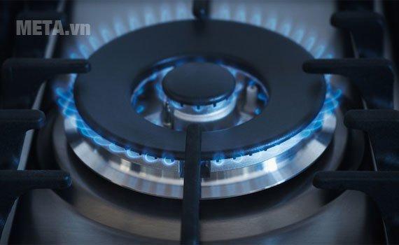 Bếp âm Electrolux EGT7526CK cho ngọn lửa xanh