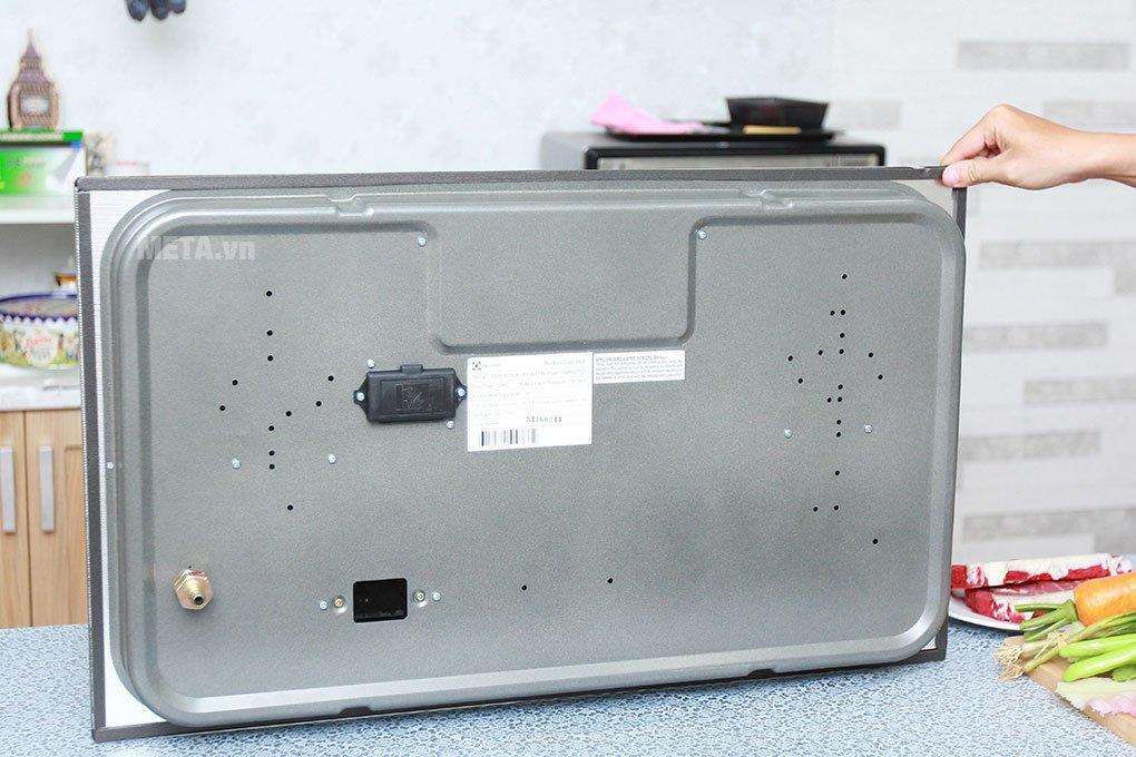 Bếp âm Electrolux EGT7627CK thiết kế chắc chắn
