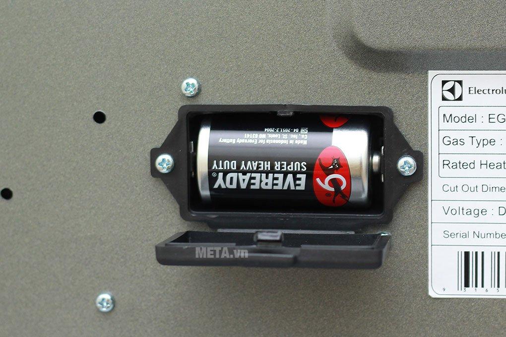 Bếp âm Electrolux EGT7627CK có hệ thống đánh lửa IC