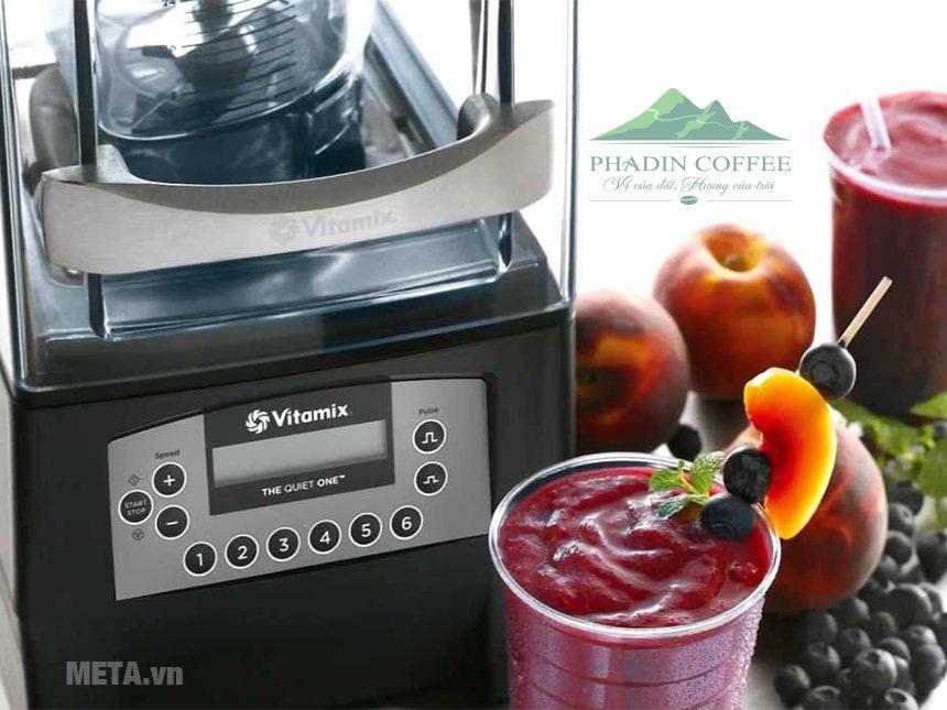 Máy xay sinh tố Vitamix The Quiet One Blender giúp chế biến sinh tố nhanh chóng