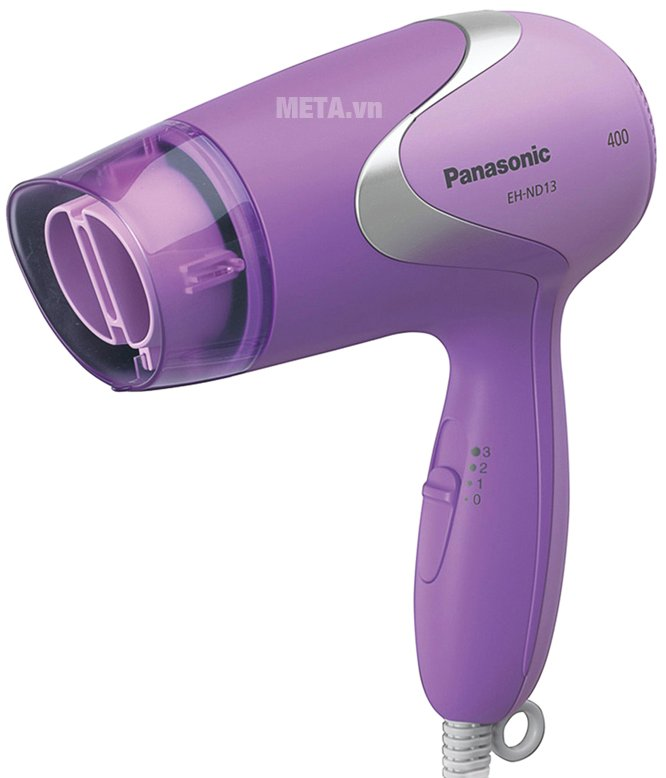Máy sấy tóc Panasonic EH-ND13-V645 được thiết kế gọn nhẹ