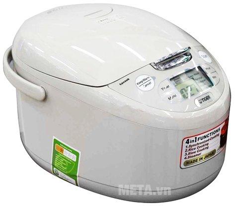 Nồi cơm điện Tiger JAX-R10W - 1 lít giúp cơm chín nhanh và ngon hơn