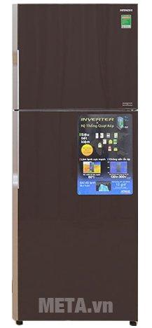 Hình ảnh tủ lạnh 2 cánh 395 lít Hitachi R-VG470PGV3