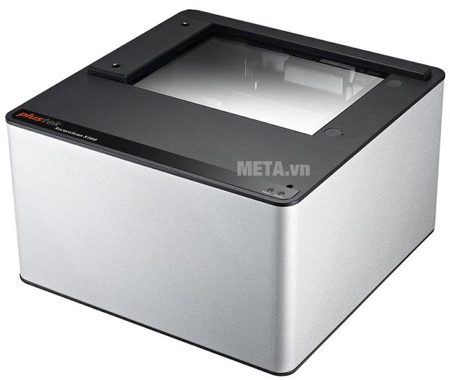 Máy Scan hộ chiếu Plustek X100 có thiết kế khá vuông vắn