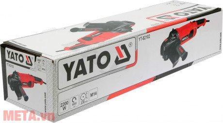 Hộp của máy mài góc an toàn đa năng Yato YT-82102