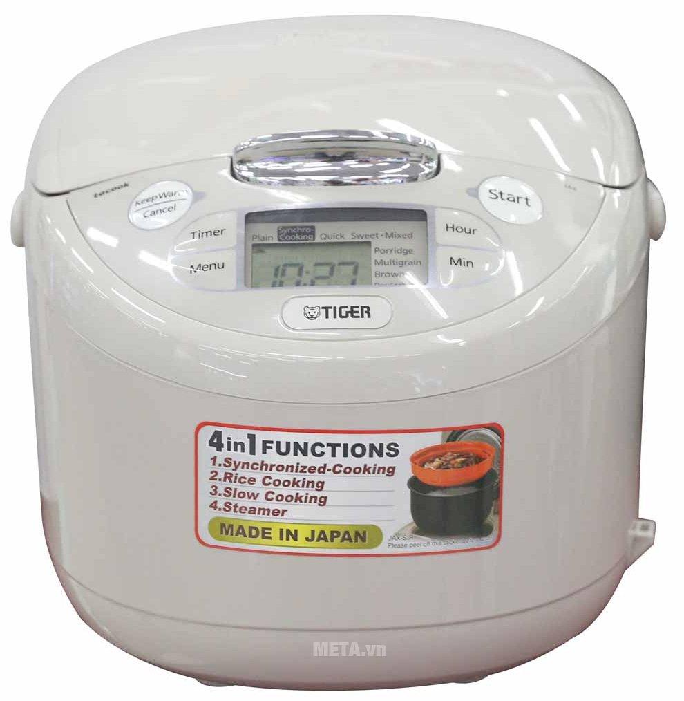 Hình ảnh nồi cơm điện Tiger JAX-R18W - 1.8 lít