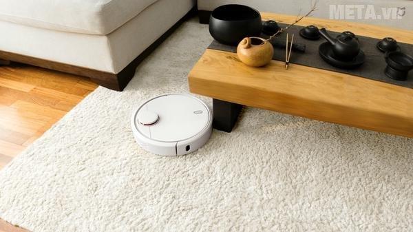 Máy hút bụi thông minh Mi Robot Vacuum Xiaomi có chức năng hẹn giờ hút bụi