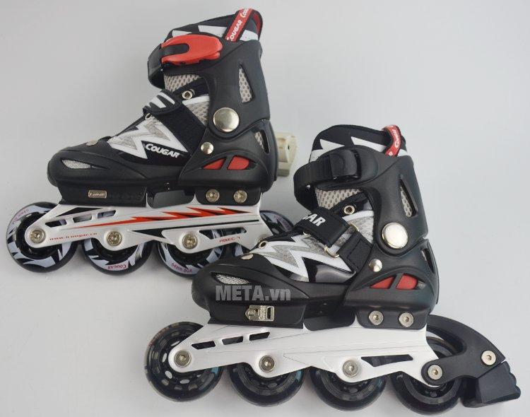 Giầy trượt patin Cougar 835L có kiểu dáng vô cùng ấn tượng