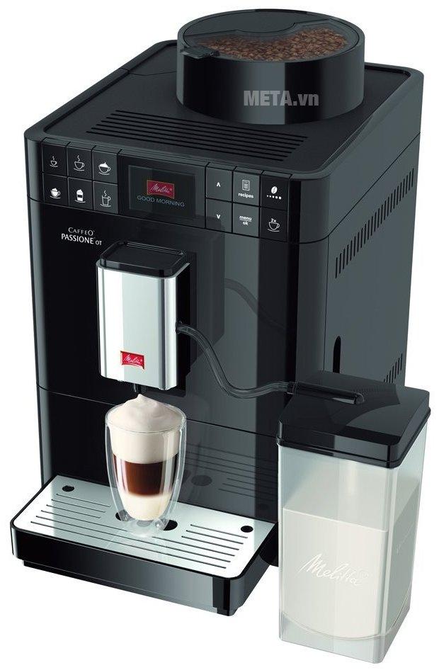 Máy pha cà phê Melitta Caffeo Passione OT có thiết kế tiện lợi