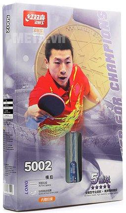 Vợt bóng bàn mút DHS 5002 có thiết kế cao cấp