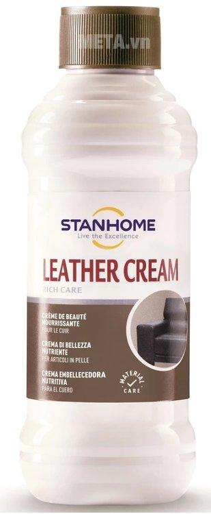 Hình ảnh kem dưỡng và làm sạch đồ da 2 trong 1 Leather Cream Stanhome 250ml