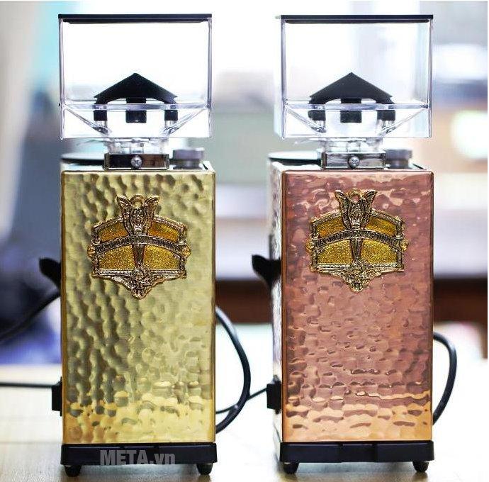 Máy xay cà phê Victoria Arduino MCF Brass với các màu