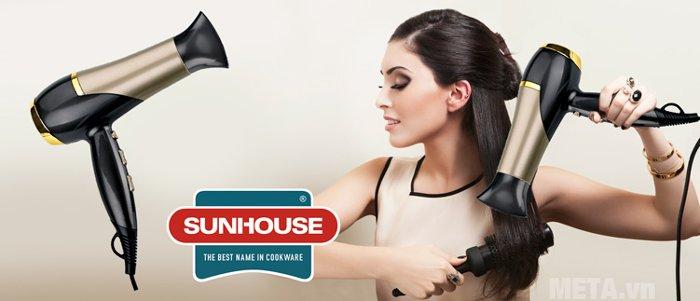Máy sấy tóc Sunhouse SHD2318 giúp tạo kiểu theo ý muốn