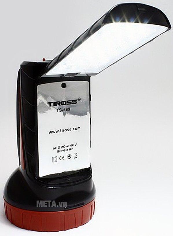 Đèn pin sạc điện Tiross TS-689 có thiết kế tiện lợi