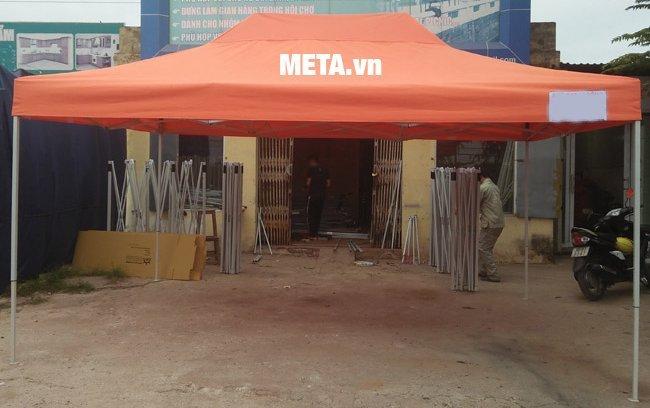 Khung nhà bạt di động 3m x 4,5m sản xuất tại Việt Nam